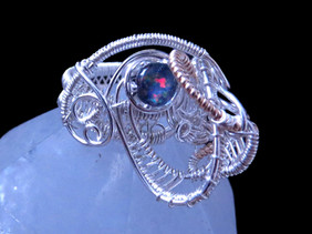 Wire Woven Ring