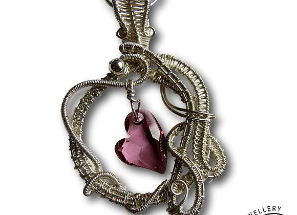 Heart Encircled Pendant