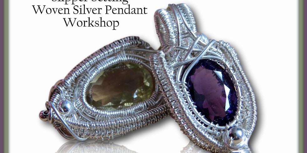 Slipper Setting Gemstone Pendant Workshop
