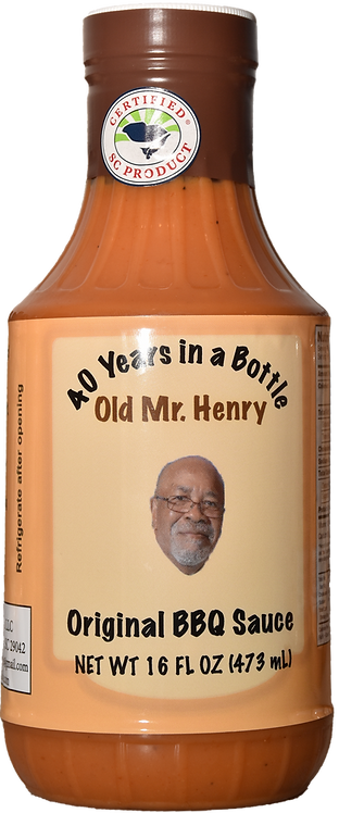 Old Mr. Henry Original BBQ Sauce