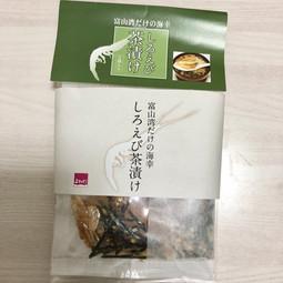 【富山】しろえび茶漬け