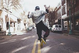 Danser dans la rue
