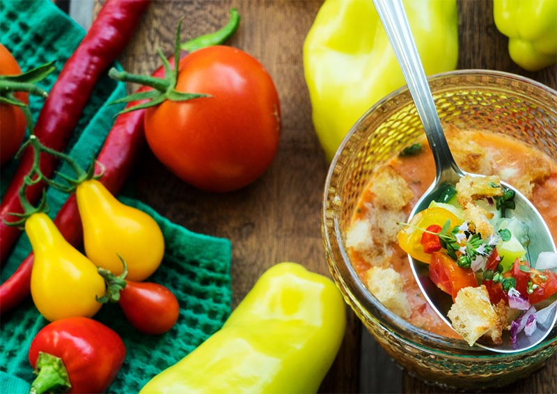 gazpacho studena polievka recept