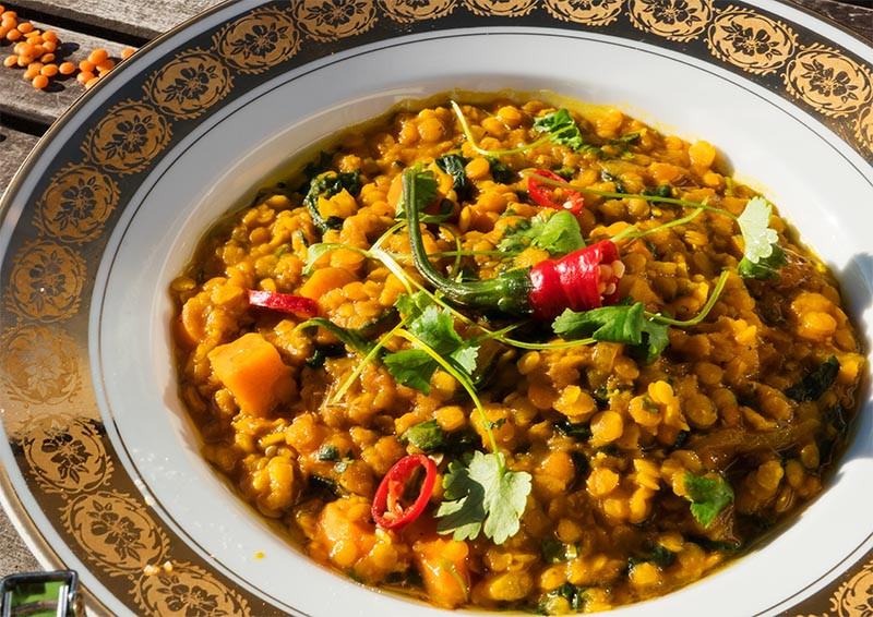 sosovica na indicky sposob recept