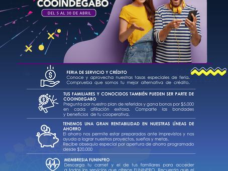 FERIA DE SERVICIOS COOINDEGABO