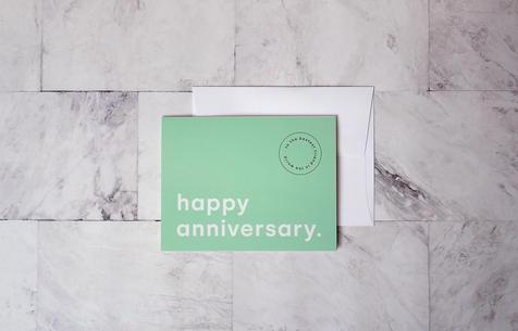 My Best Friend Anniversary Folding Card | $5.99