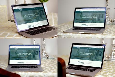 Bundle of Laptop Website Mockups on Table | $20.97