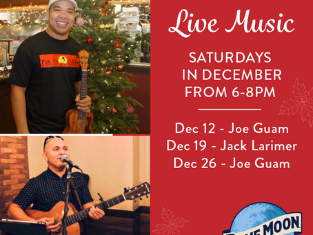 Live Music at Pika's for the Holidays