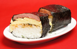 SPAM Musibi with Egg