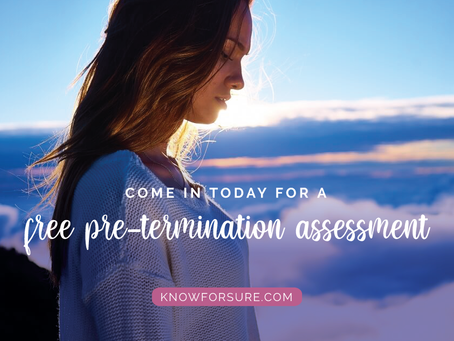 Free Pre-Termination Assessment
