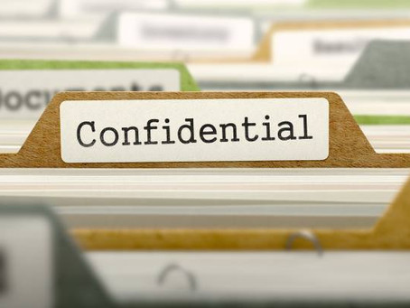 Strictly confidential services