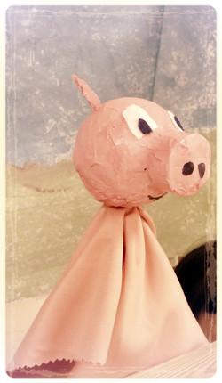 Le cochon costaud