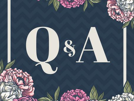 We're having a Q&A