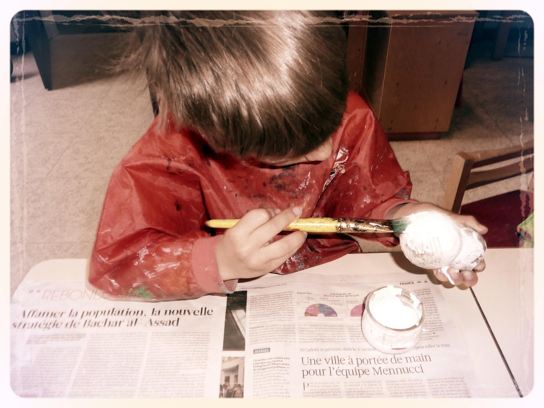 peinture, sous-couche, du Rouge-Gorg