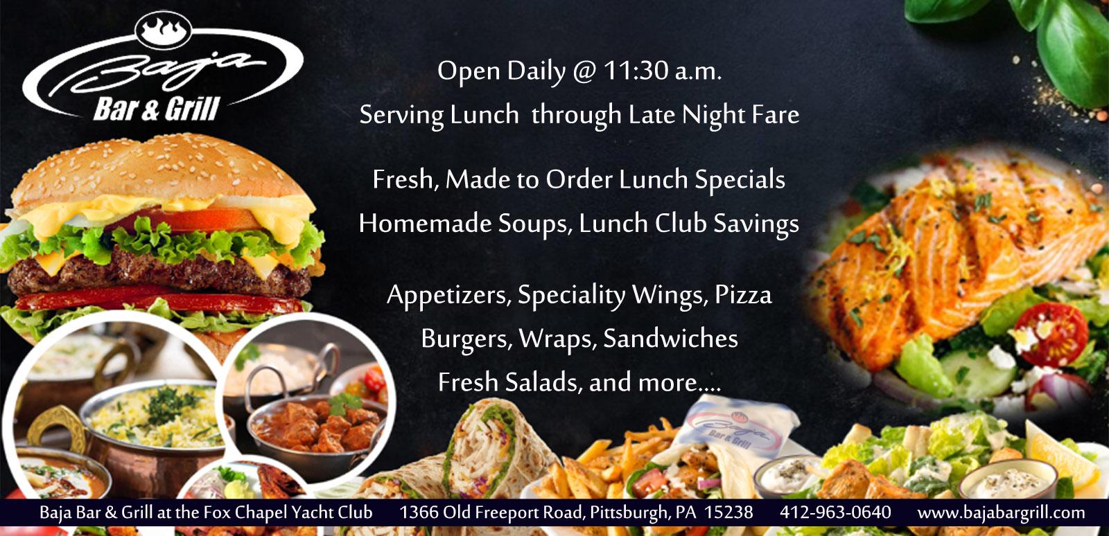 Baja Fresh Hours >> Baja Bar Grill Pittsburgh Pa Live Bands Restaurant Events