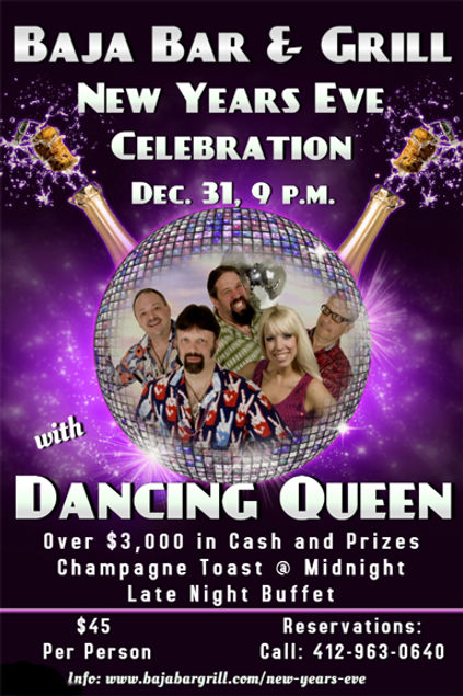 New Year's Eve Party with Dancing Queen