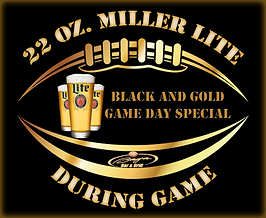 Game Day Specials at the Baja