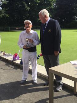 Bill Bentall Trophy Runner Up