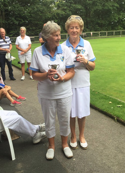 Runners Up Gilly Pairs