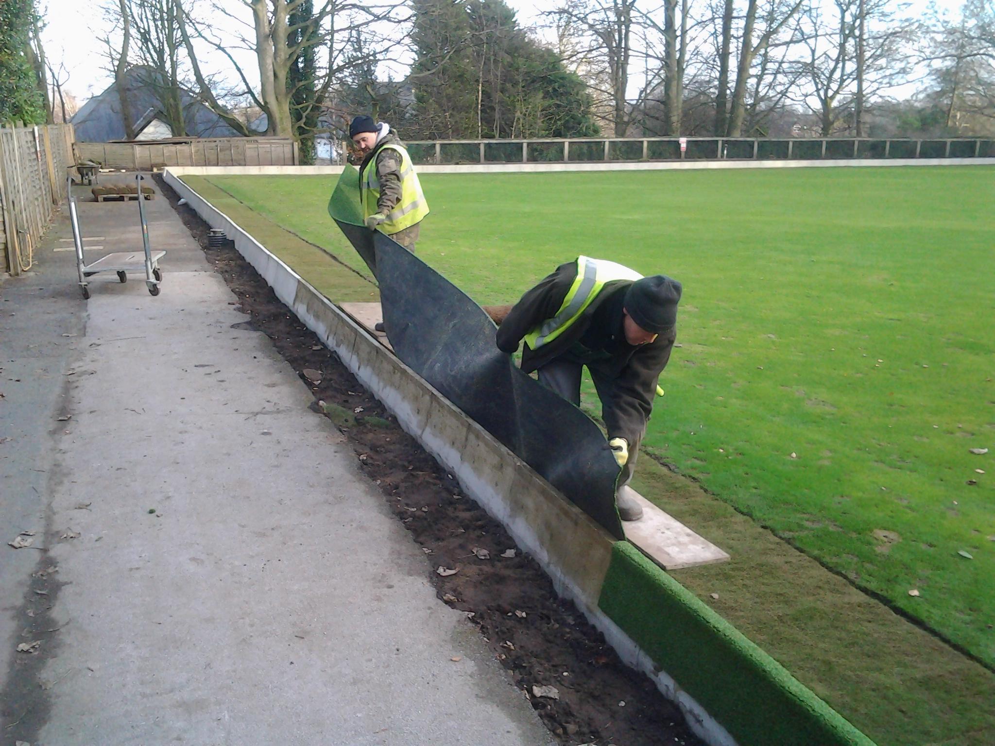 Winter Work on Green Surround