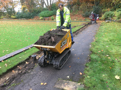 Removing The Old Grass Edging