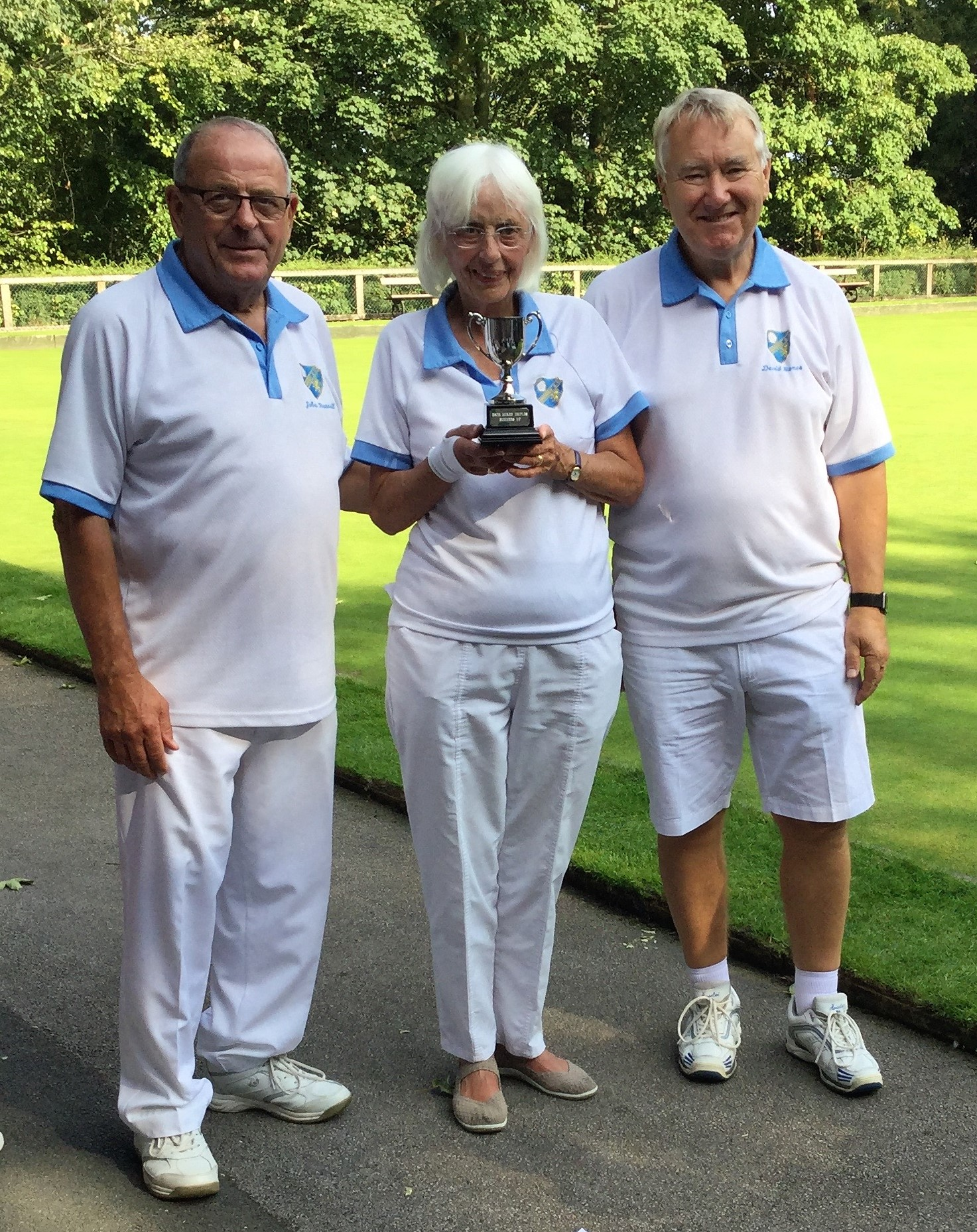 Runners Up Ebor Mixed Triples