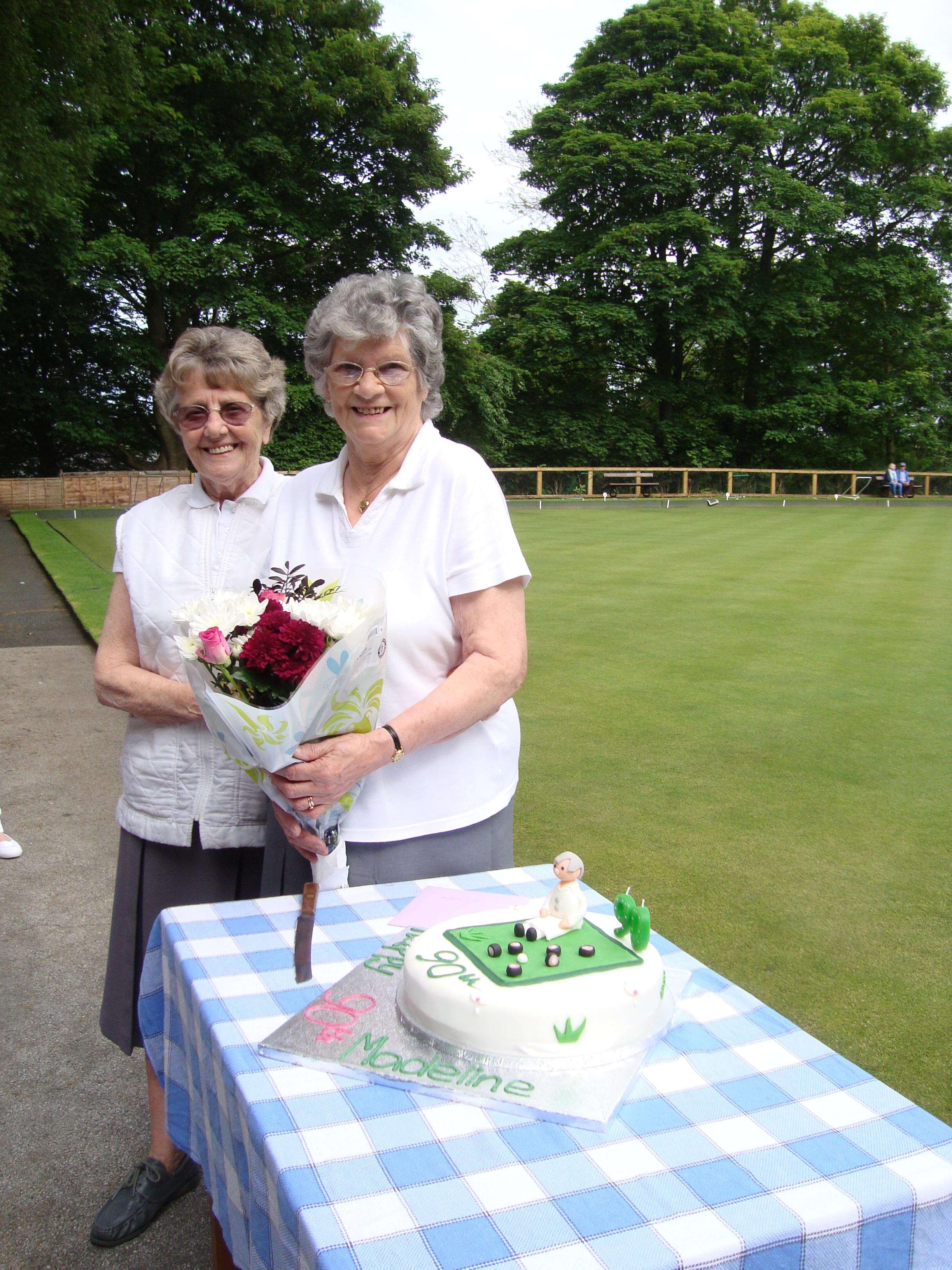 Joan & Madeline May 2014