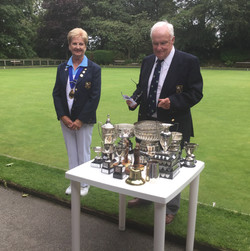 Trophies At The Ready