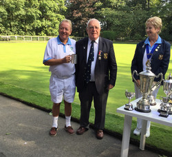Runners Up Gents Pairs