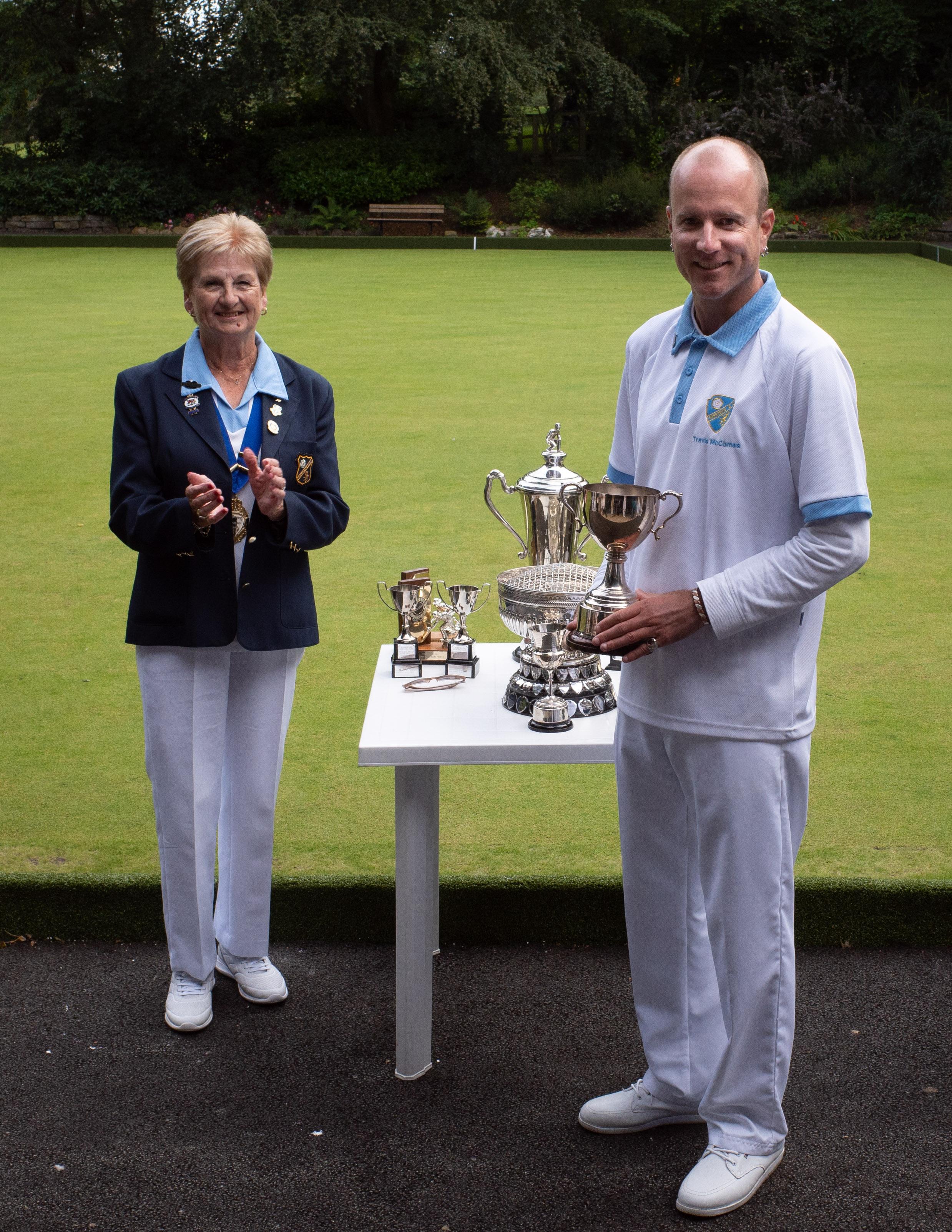 Winner of the Bill Bentall Trophy Travis