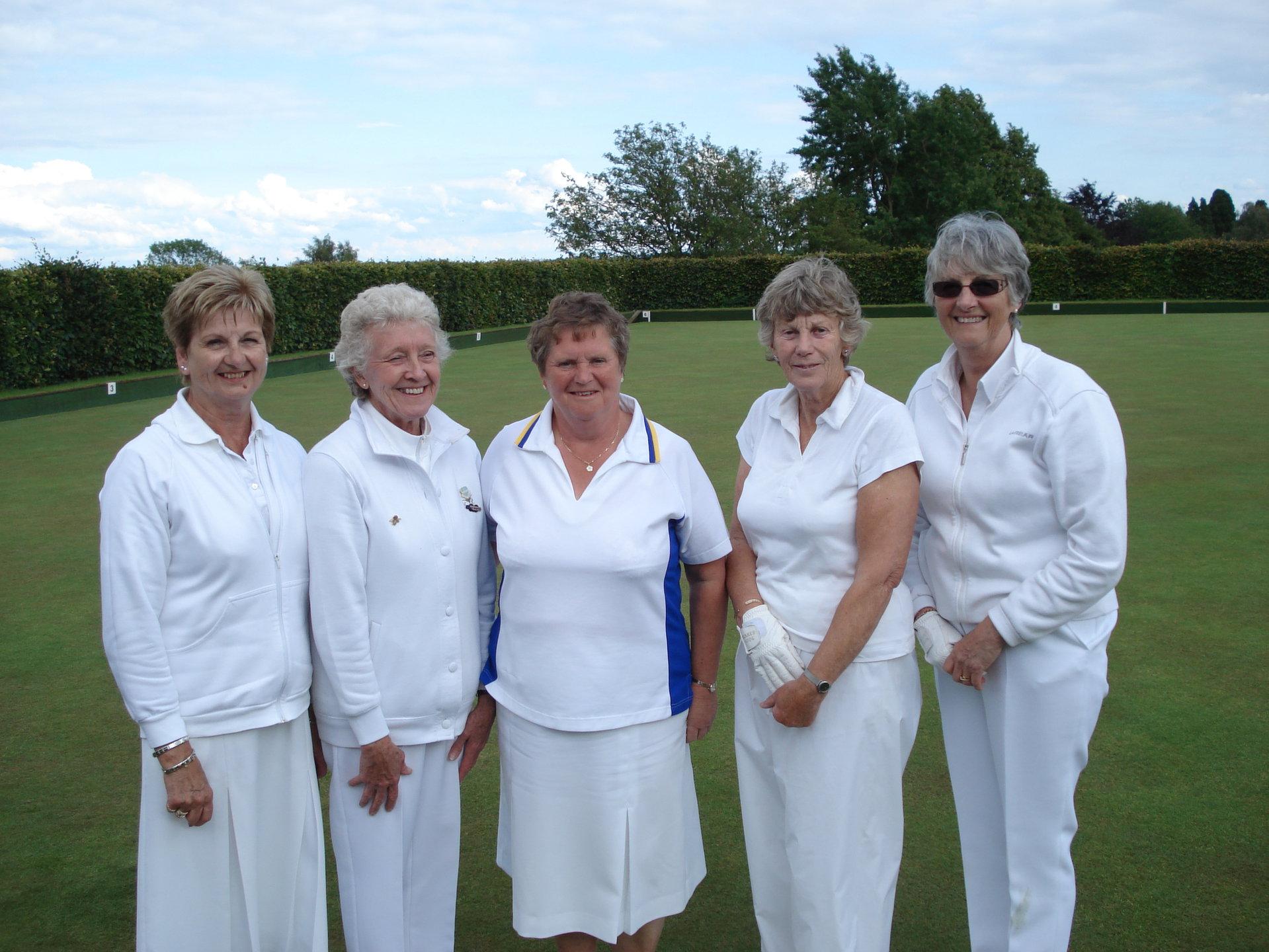 Ladies 4's at Helmsley-Semi finals