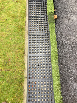 Rubber Mats In Place