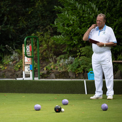 Concentration from the marker in Presidents Cup Final 2021