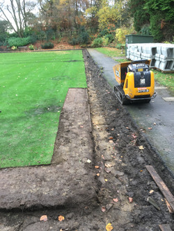 Removing Turf From Green Edges