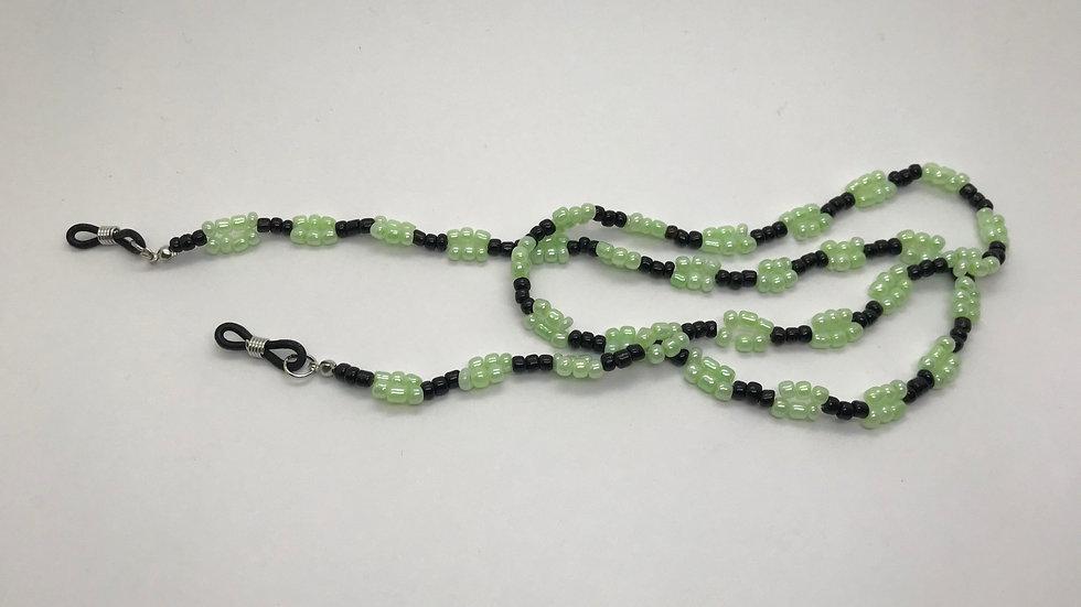 Cadena mini perlas / verde