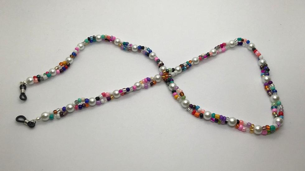 Cadena mini perlas / multicolor