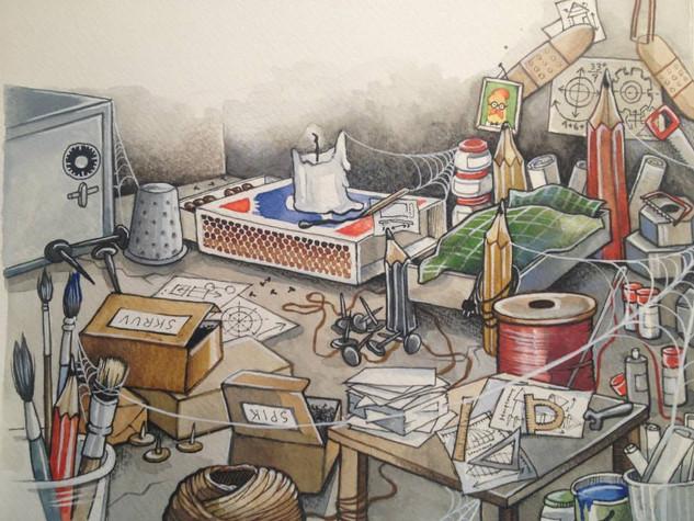 Illustrative work for Liber / 2012-2017