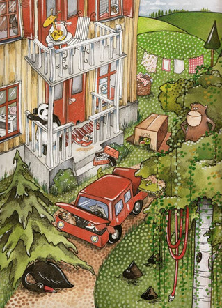 Illustrative work for Bonnier / 2011