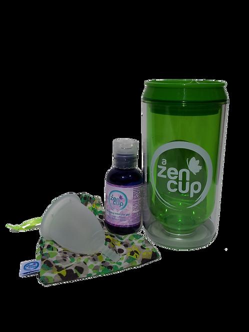 A ZEN PACK clear natural