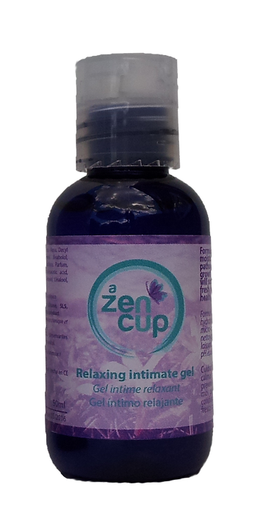A ZEN CUP relaxing intimate gel cleanser 50ml