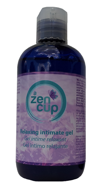 A ZEN CUP relaxing intimate gel cleanser 250ml