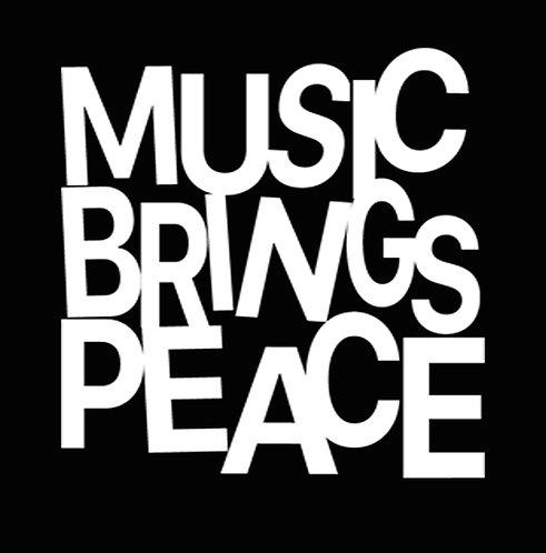 Music Brings Peace - Unisex