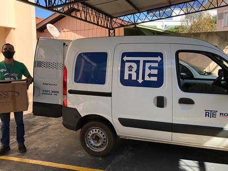 RTE Rodonaves arrecada 57.300 toneladas em doações para comunidades em situações vulneráveis