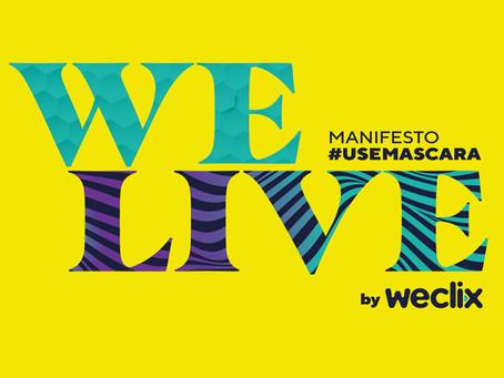 Live vai unir orquestra, eletrônico e pop em manifesto a favor do uso de máscaras