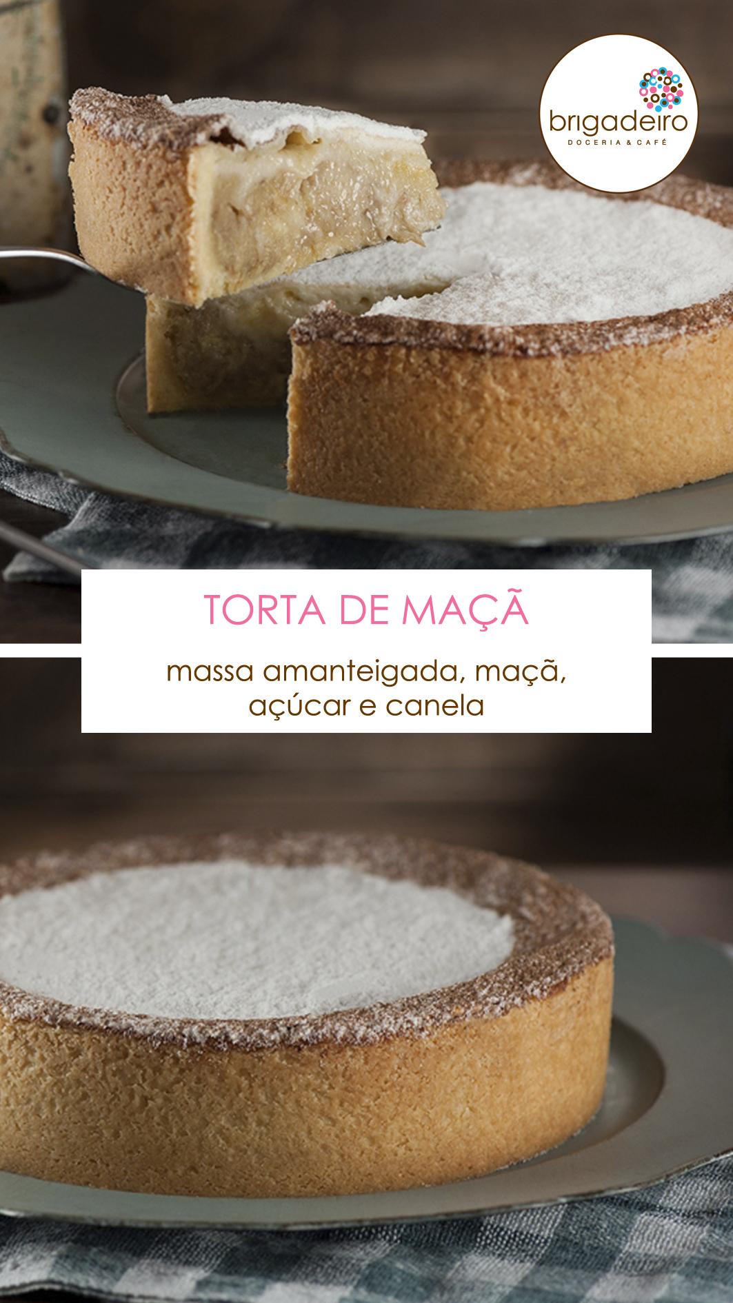 11 - TORTA DE MAÇÃ