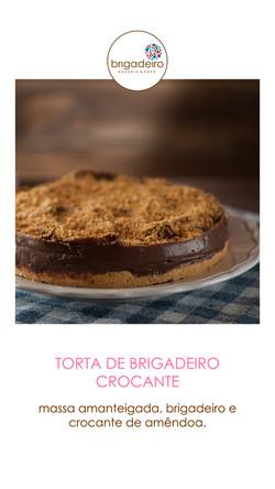 TORTA BRIGADEIRO CROCANTE