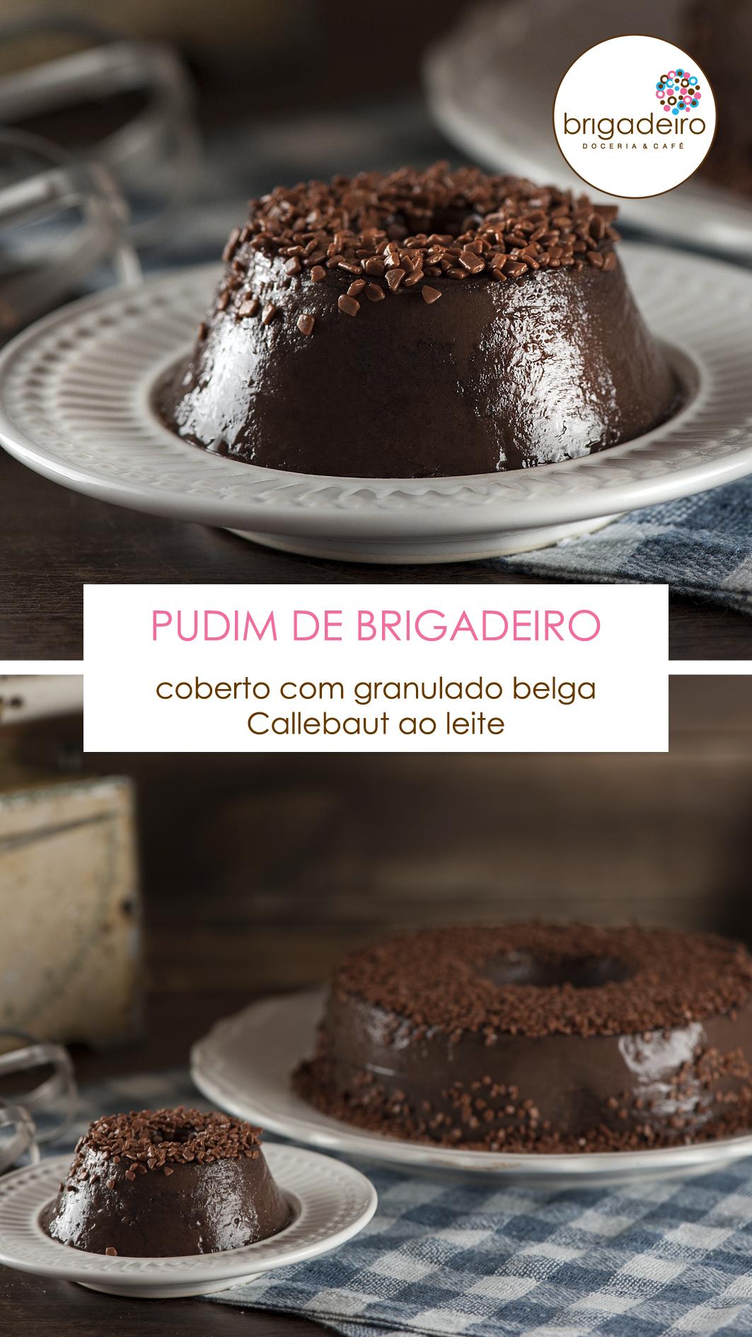 03 - PUDIM DE BRIGADEIRO