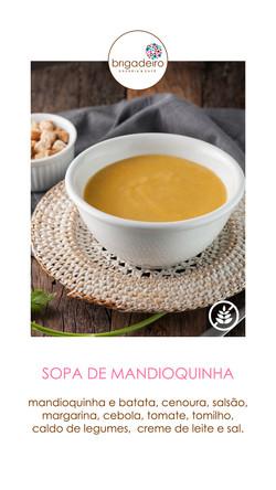 SOPA MANDIOQUINHA