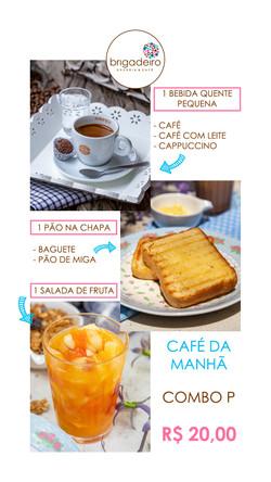 CAFÉ DA MANHÃ COMBO P