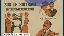 """""""Femmes dans le canton de Neuchâtel : un combat méconnu"""" - colloque du 22 juin 2019 à l&#3"""